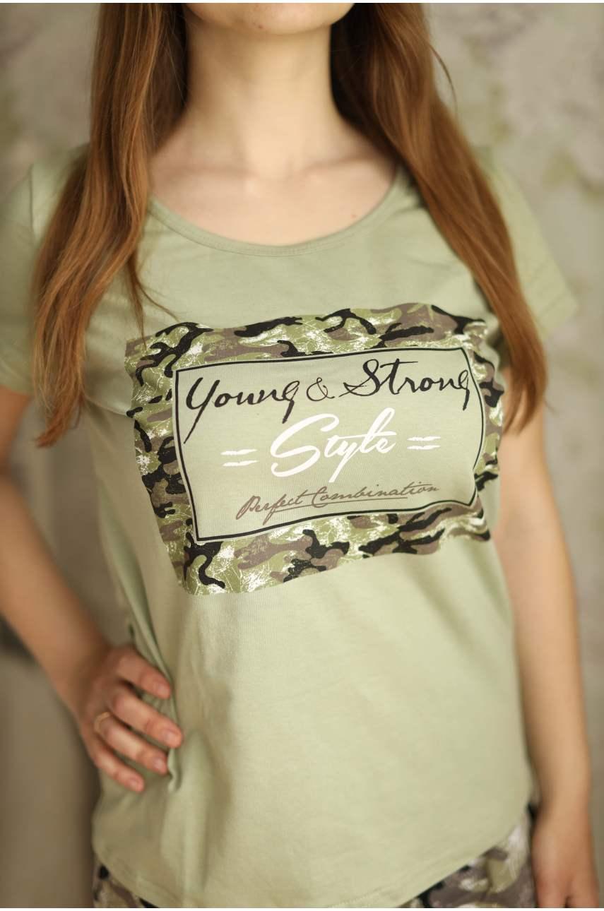 Пижама Амазонка (футболка и шорты)