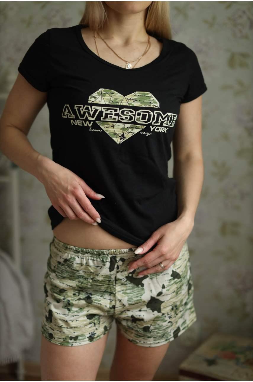 Пижама Даймонд (футболка и шорты)