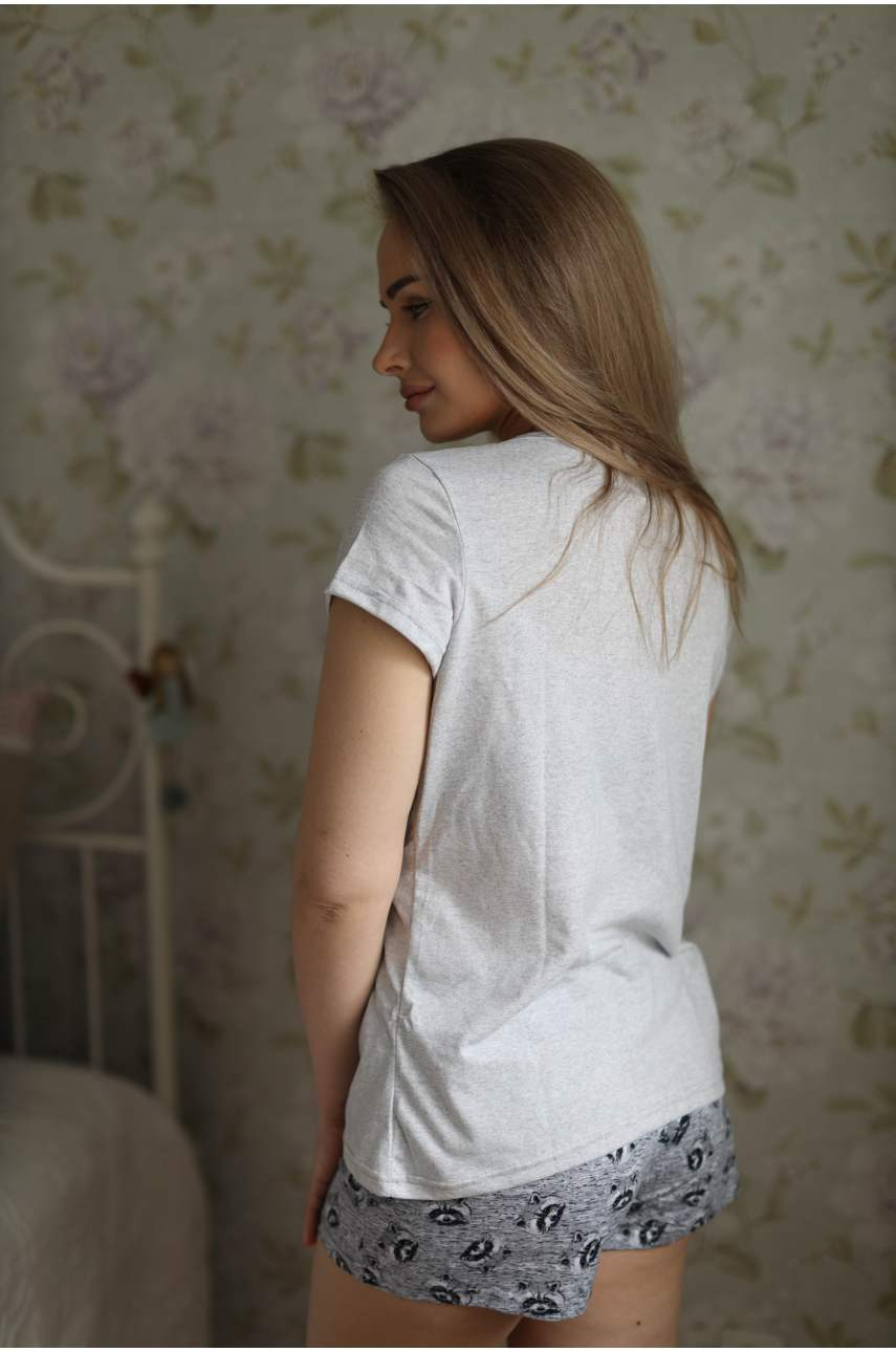 Пижама Енотик (футболка и шорты)