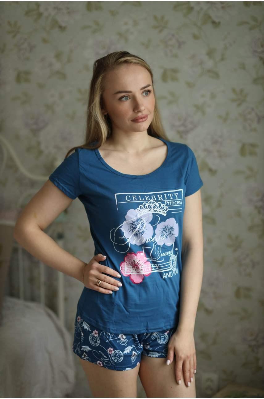Пижама Шарлотта (футболка и шорты)