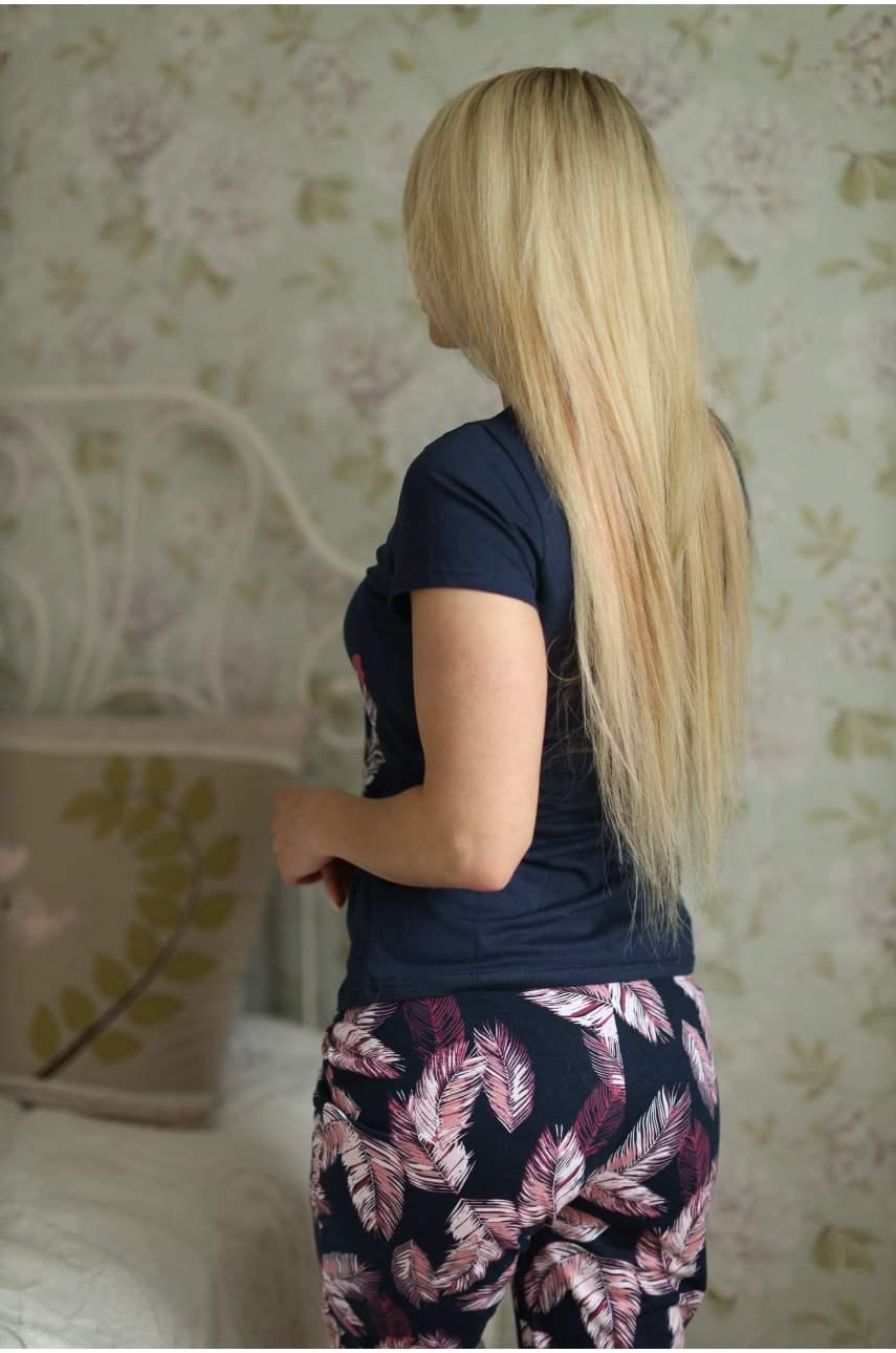 Пижама Рианна (футболка и бриджи)
