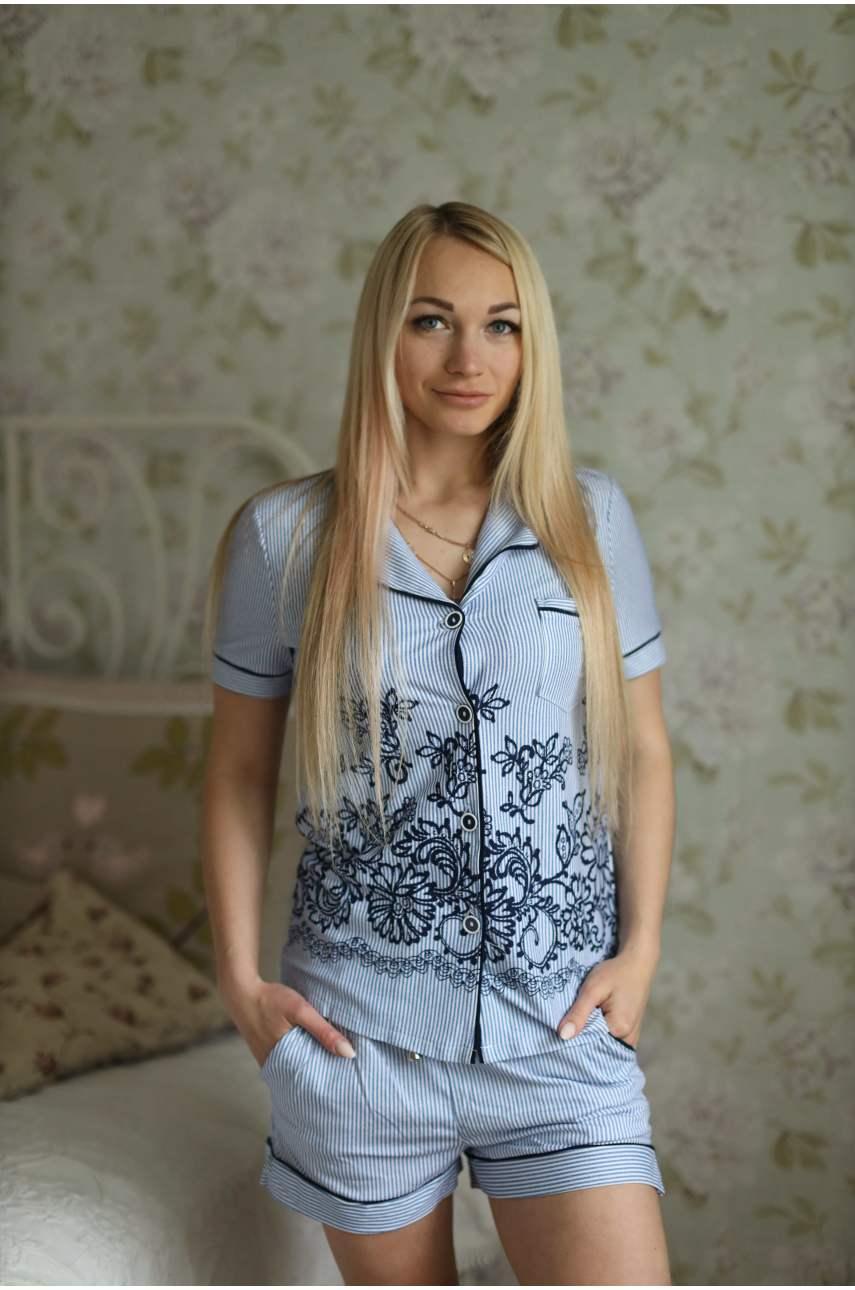 """Костюм """"Сюзанна"""" (рубашка и шорты)"""