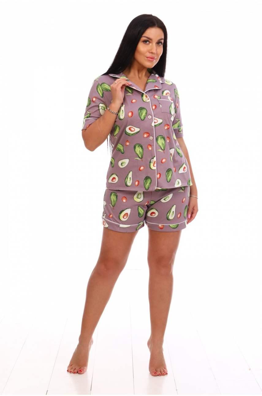 """Пижама """"Авокадо"""" (ириска)"""