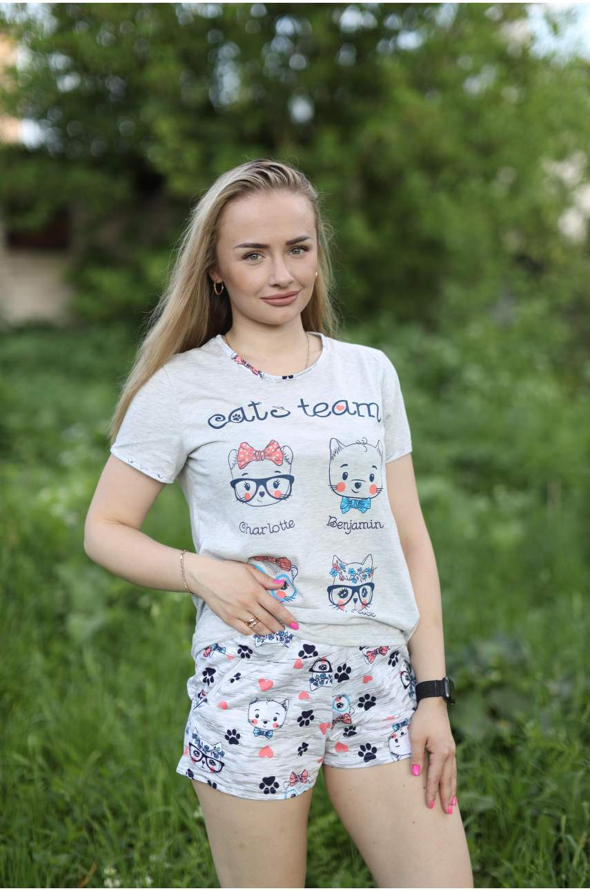 "Пижама ""Карамелька"" (футболка и шорты)"