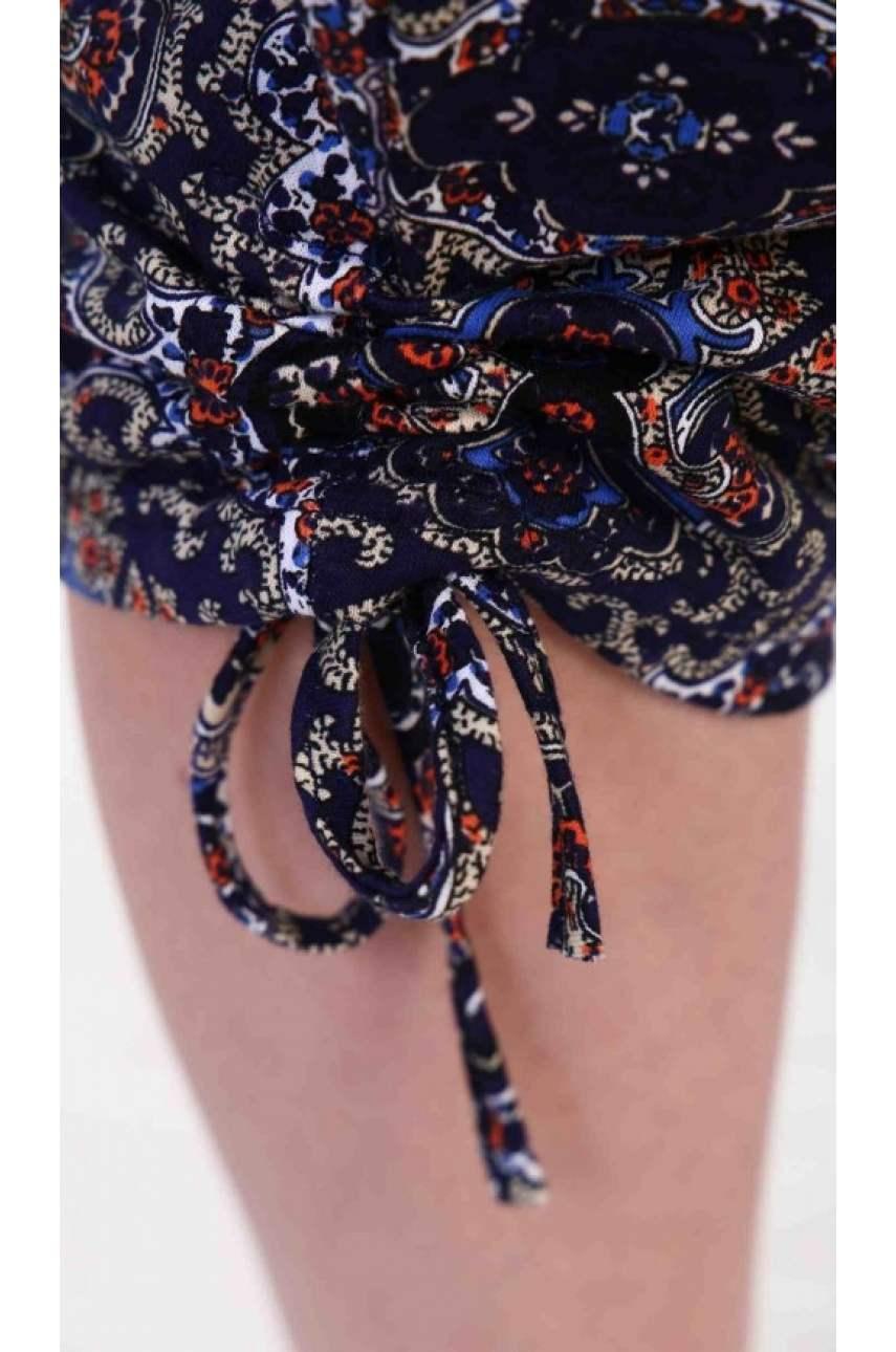 Бриджи женские с завязками